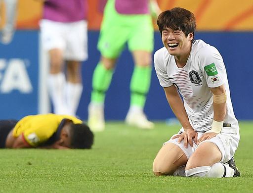 韓国がU-20W杯で初の決勝進出、世界一を懸けウクライナと