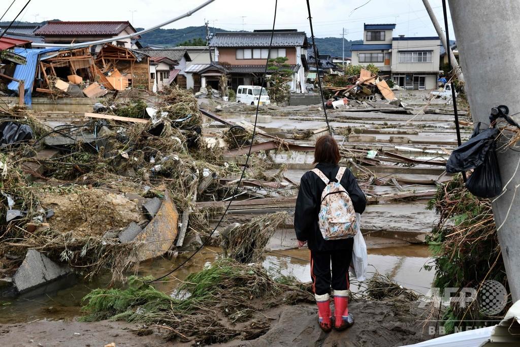 台風19号、死者66人に 各地で救出・復旧活動続く