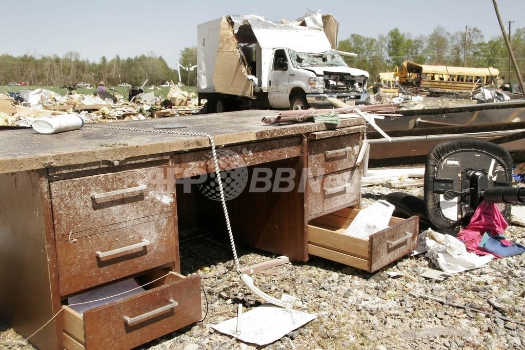 米国南部で200以上の竜巻、45人死亡