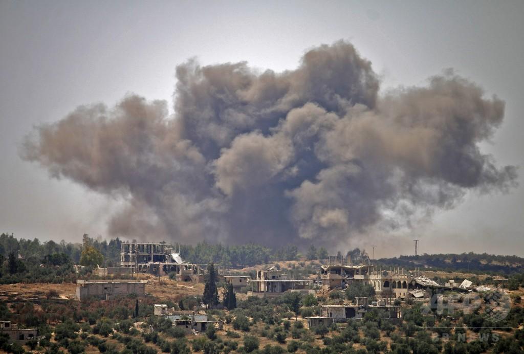 ロシア軍、シリア南部に空爆 民間人25人死亡 写真6枚 国際ニュース ...