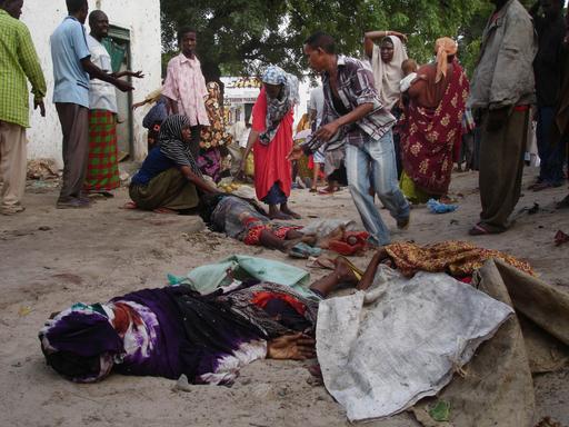 ソマリアで路肩爆弾が爆発、少なくとも20人死亡