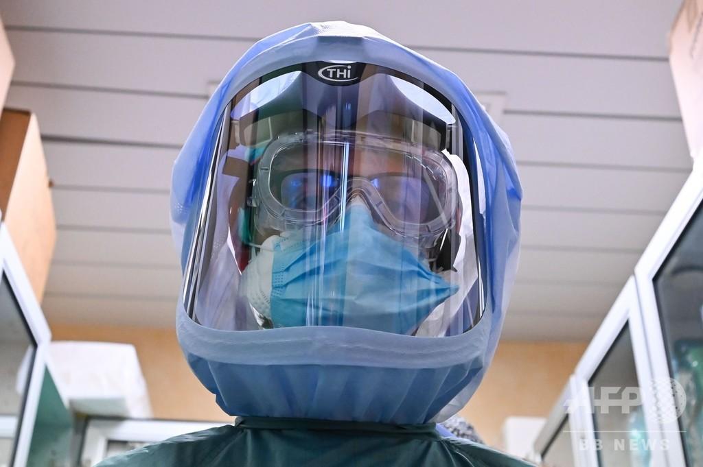 世界の新型コロナ感染者、150万人超える AFP集計