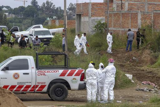 暴力まん延で大量の遺体遺棄…メキシコ政府が発見現場のデータベース作成