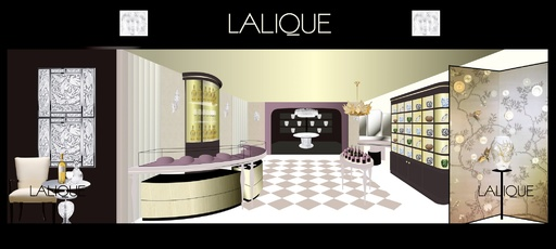 「LALIQUE銀座本店」リニューアル・グランドオープン