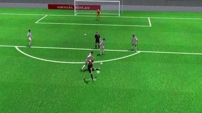 3D動画:後半35分のモドリッチの追加点、アルゼンチン対クロアチア