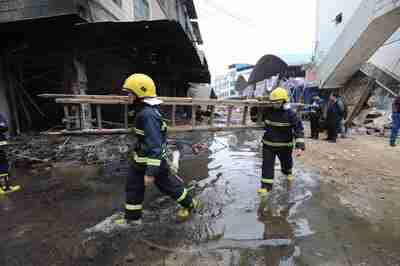 花火や爆竹の販売店で火災、5人死亡 広西・融安県