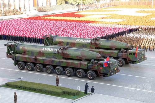 金第1書記、核兵器発射準備を命令 米は能力疑問視