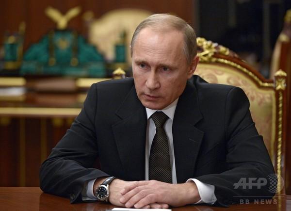 露大統領、トルコから「まだ謝罪がない」 露軍機撃墜