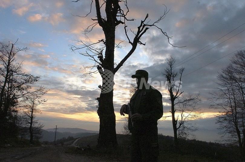 マケドニアの記者、殺人などの容疑で逮捕 自分の犯行を報道か
