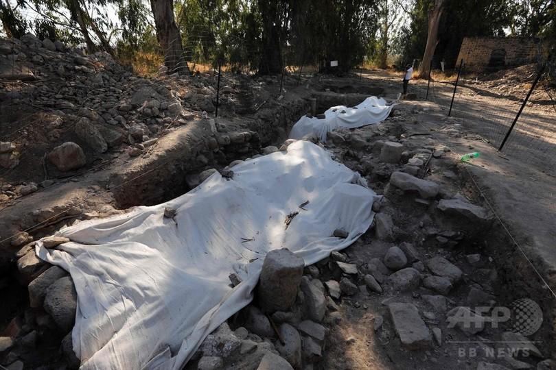 聖ペテロ生誕の地発見か イスラエル北部、「失われた町」遺構発掘