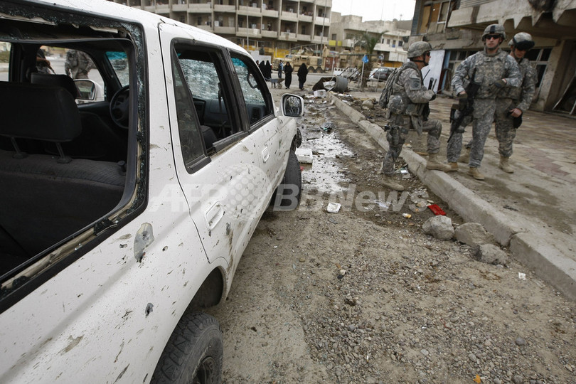 イラクのアルカイダ指導者を拘束、イラク軍発表