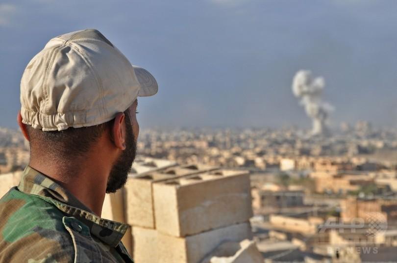 シリア軍、東部デリゾールをISから奪還 国営メディア報道
