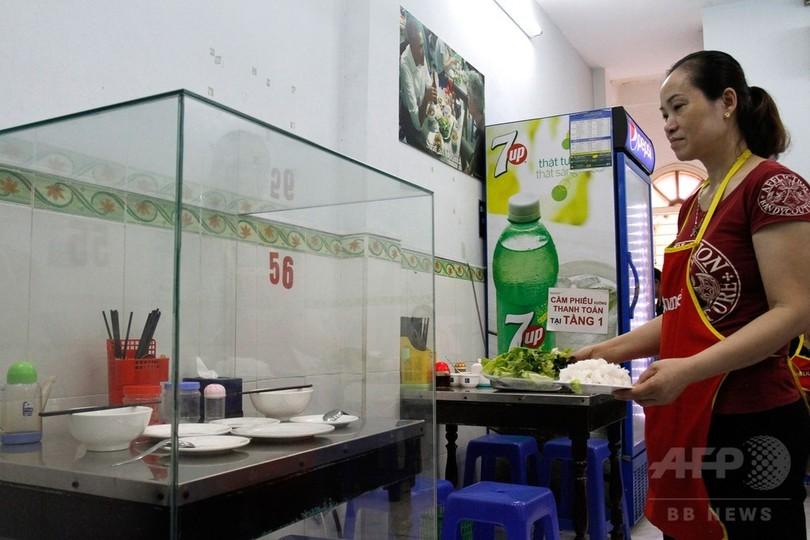 あの夜を永久保存、オバマ氏食事の店人気スポットに ベトナム