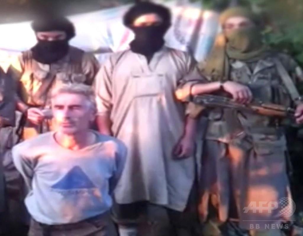 仏人質の斬首映像、アルジェリアの過激派が公開