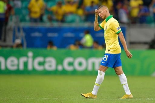 リシャルリソンがおたふくかぜに、コパ4強目指すブラジルに痛手