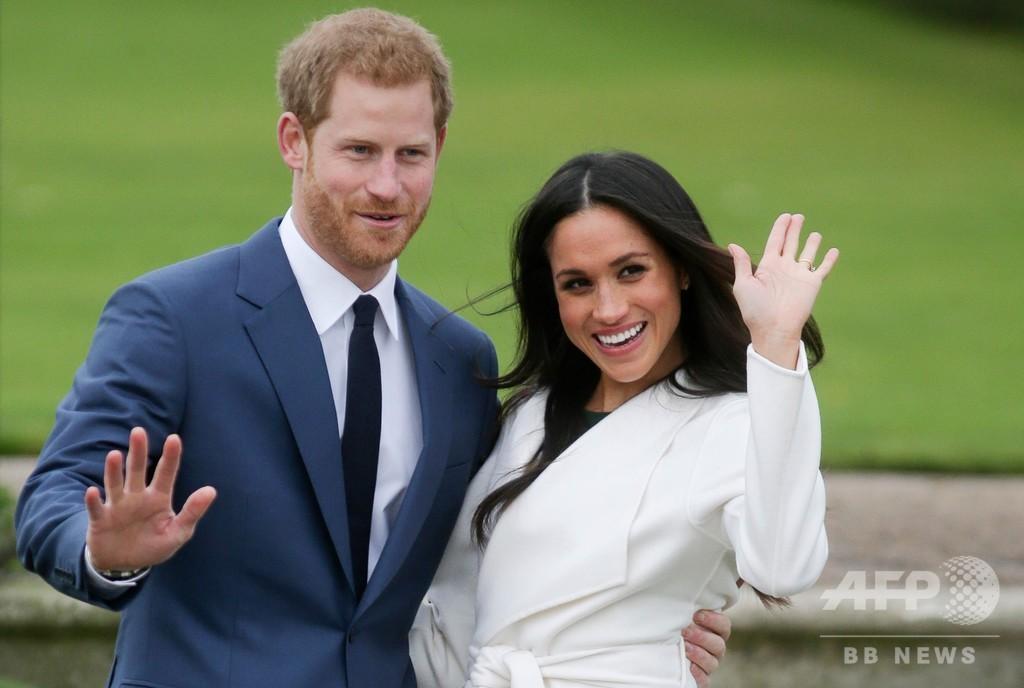ヘンリー王子夫妻、女王が「移行期間」認める 英加で生活へ