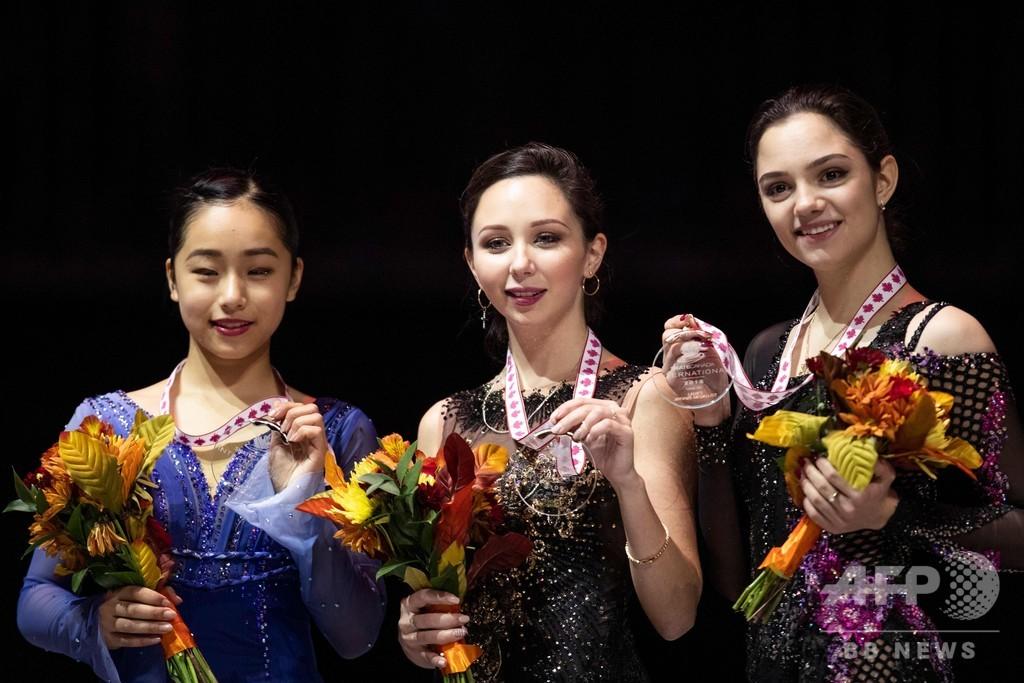 トゥクタミシェワがスケート・カナダ制覇、山下2位