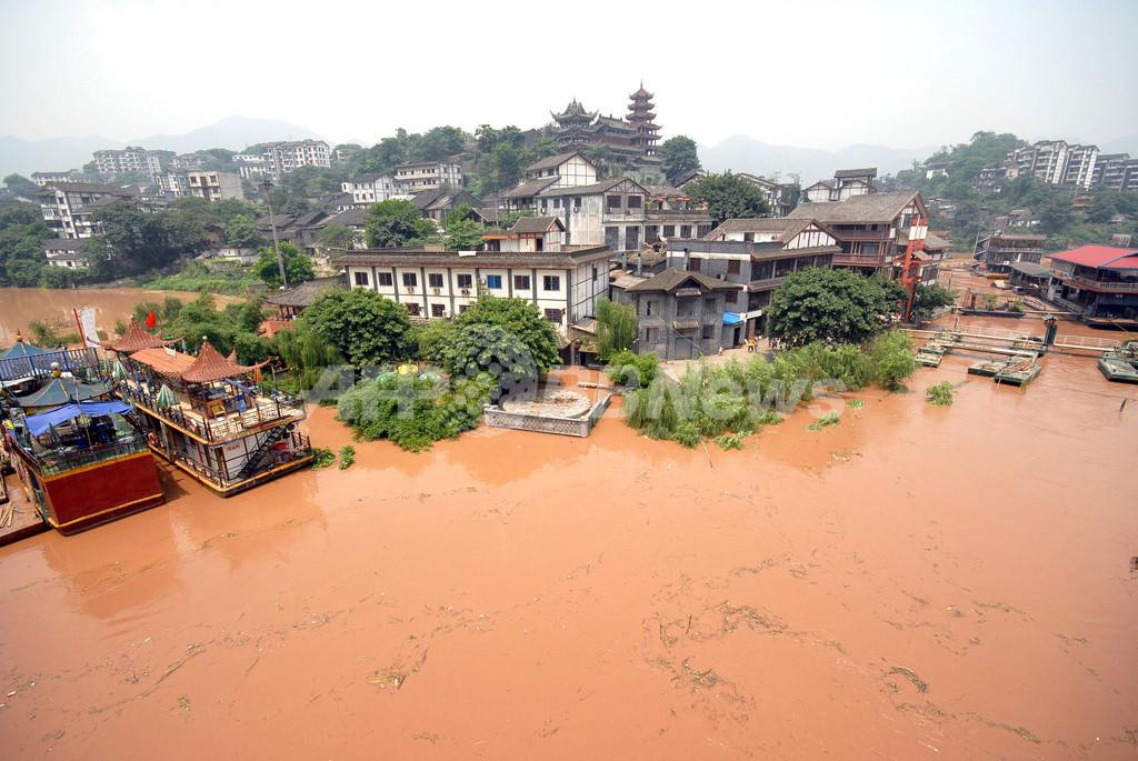 長江流域の自然災害、犠牲者600人に