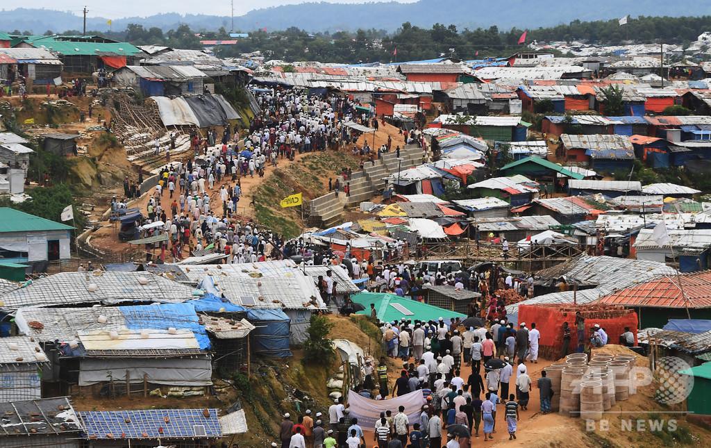 ロヒンギャ難民25万人以上に身分証明書発行、国連
