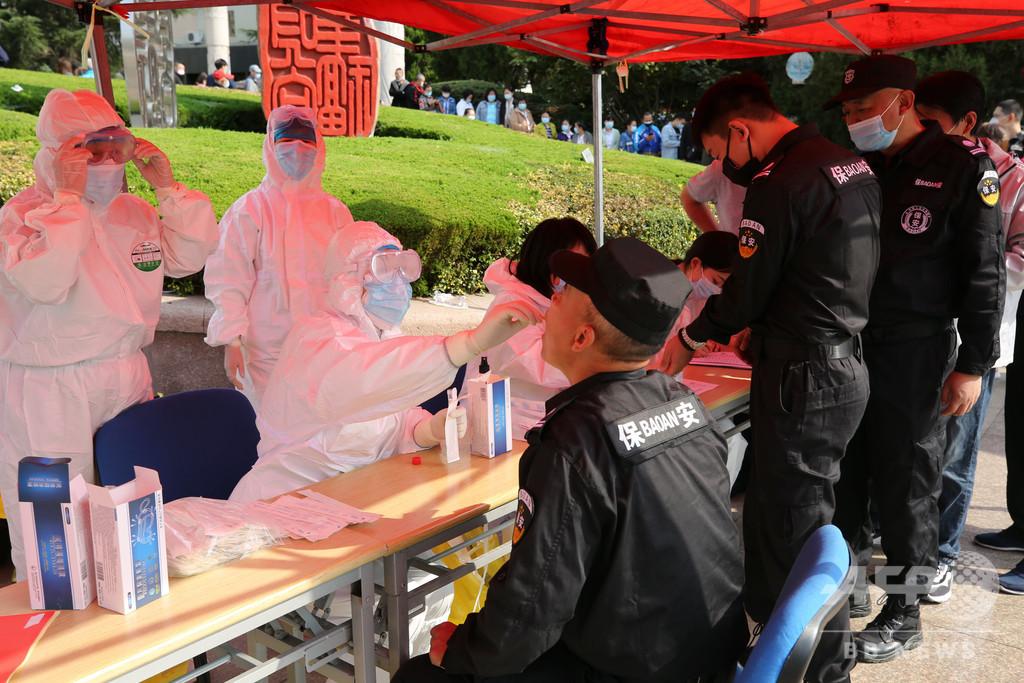 中国・青島で2か月ぶりに新型コロナの国内感染 全市民940万人にPCR検査