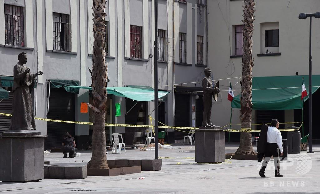 「マリアッチ」装った集団が銃撃、4人死亡 メキシコ首都の有名広場