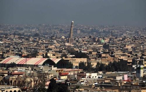 イラク軍、ISが「カリフ制国家」を宣言したモスクに迫る モスル