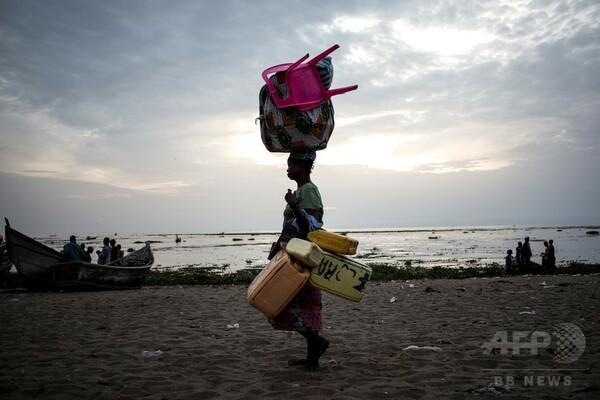 民族衝突で隣国に避難、前年はるかに上回る コンゴ民主共和国