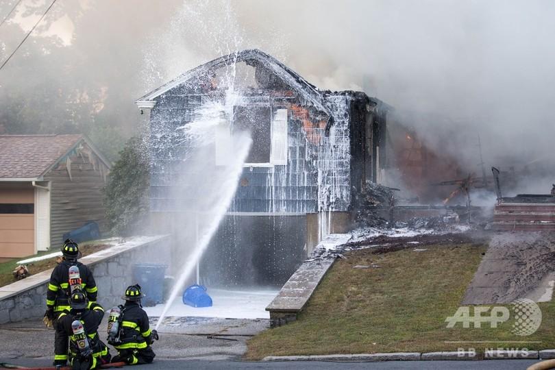 米ボストン近郊のガス爆発、10代の若者1人死亡 25人負傷