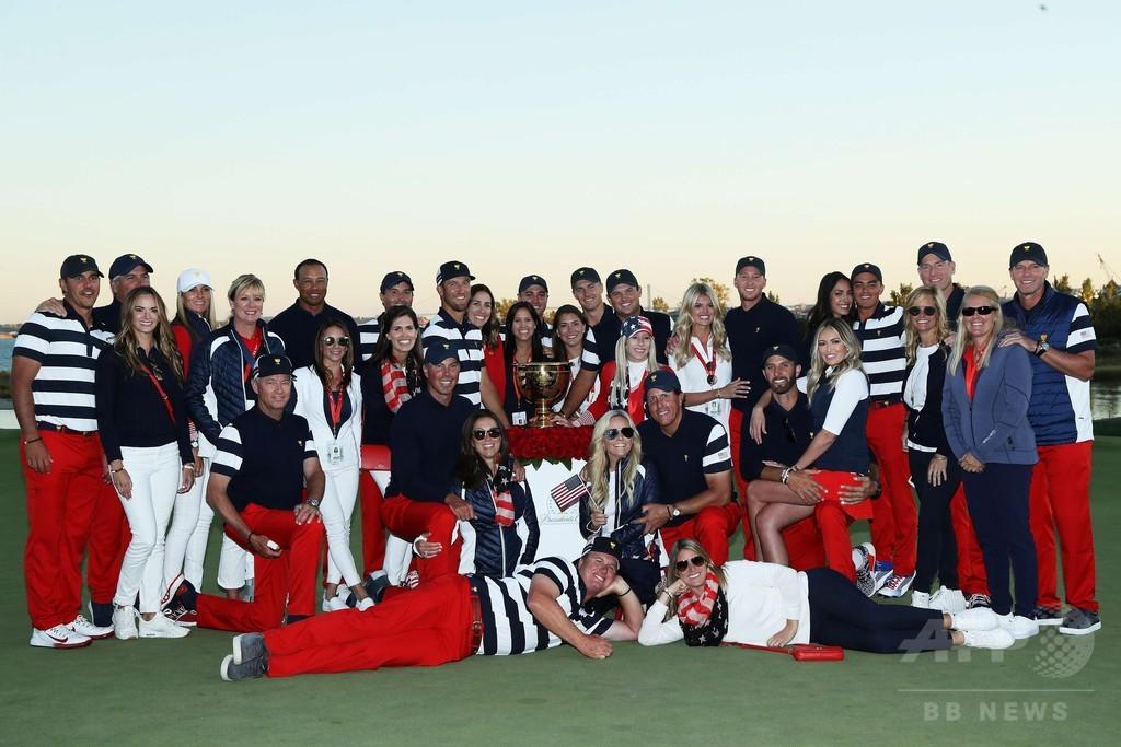 米国選抜がプレジデンツ杯V7、松山勝利の世界選抜退ける