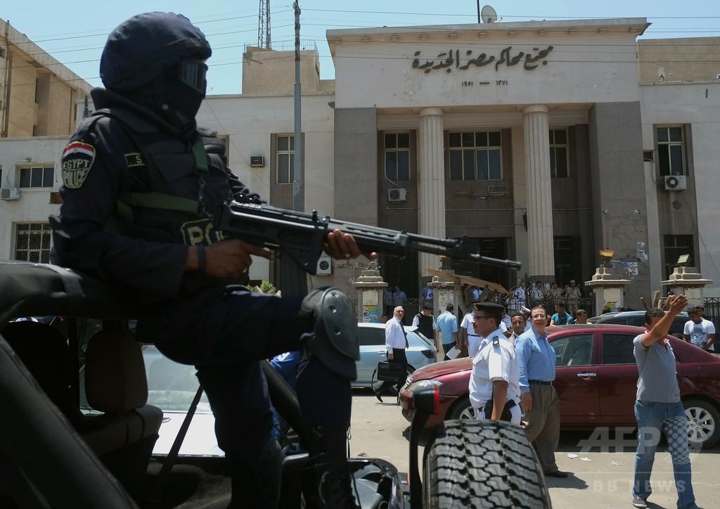 カイロの伊領事館で爆発、1人死亡 エジプト