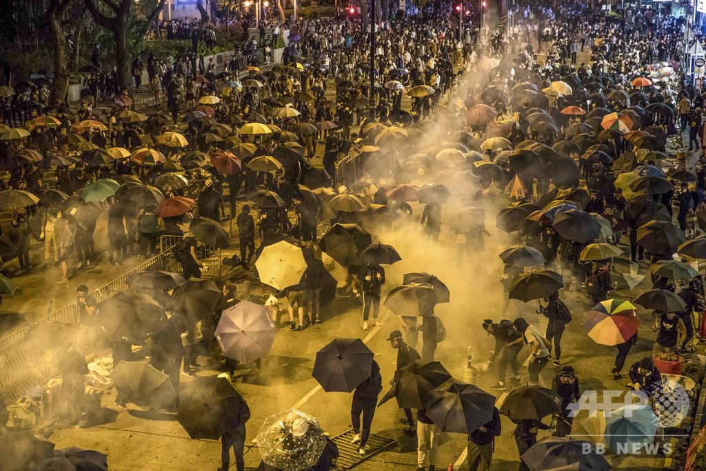 米下院、香港人権法案を可決 トランプ氏に送付