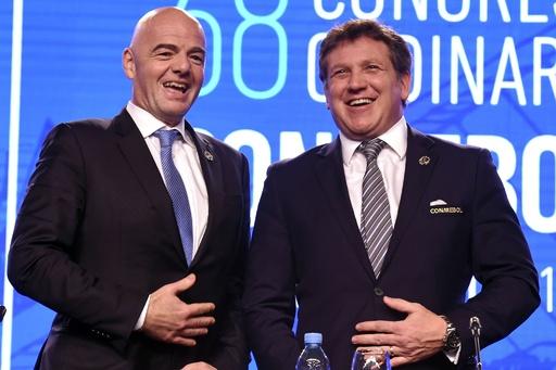 南米サッカー連盟、W杯出場枠拡大の前倒し要求 2022年に