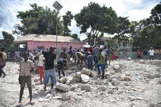 カリブ海の島国ハイチでM5.9の地震、12人死亡