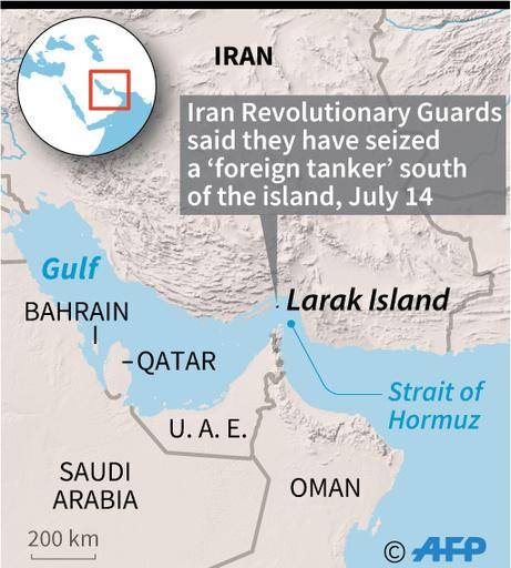イラン革命防衛隊、ペルシャ湾で外国タンカー拿捕と発表