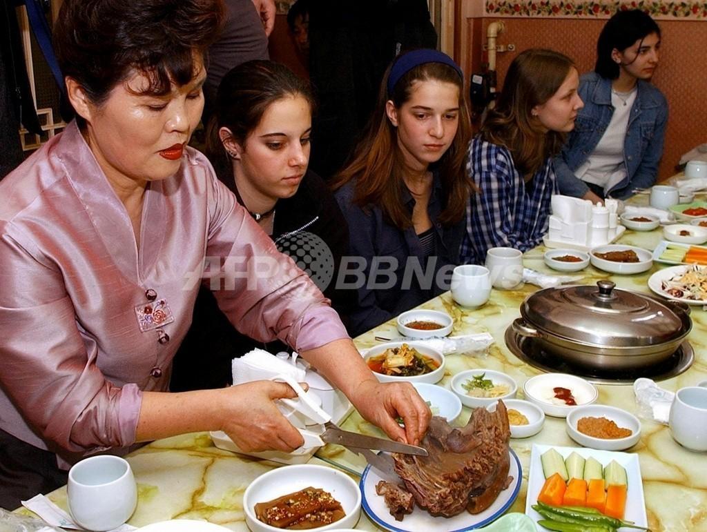 北朝鮮で伝統の「犬肉料理」促進、夏バテに効果と宣伝