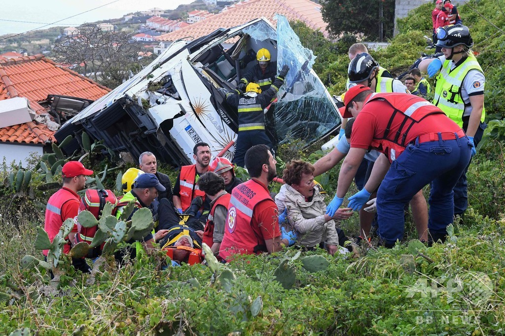 ポルトガルで観光バス事故、29人死亡 犠牲者は全員ドイツ人