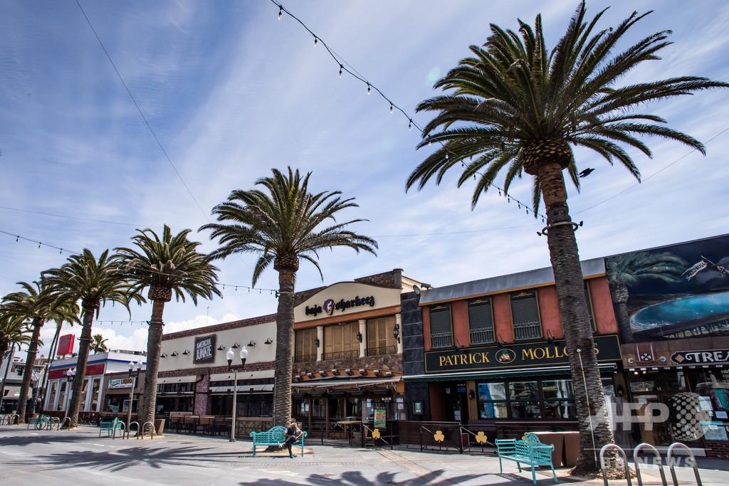 ロサンゼルスなど米加州7郡、感染拡大でバー営業を再中止