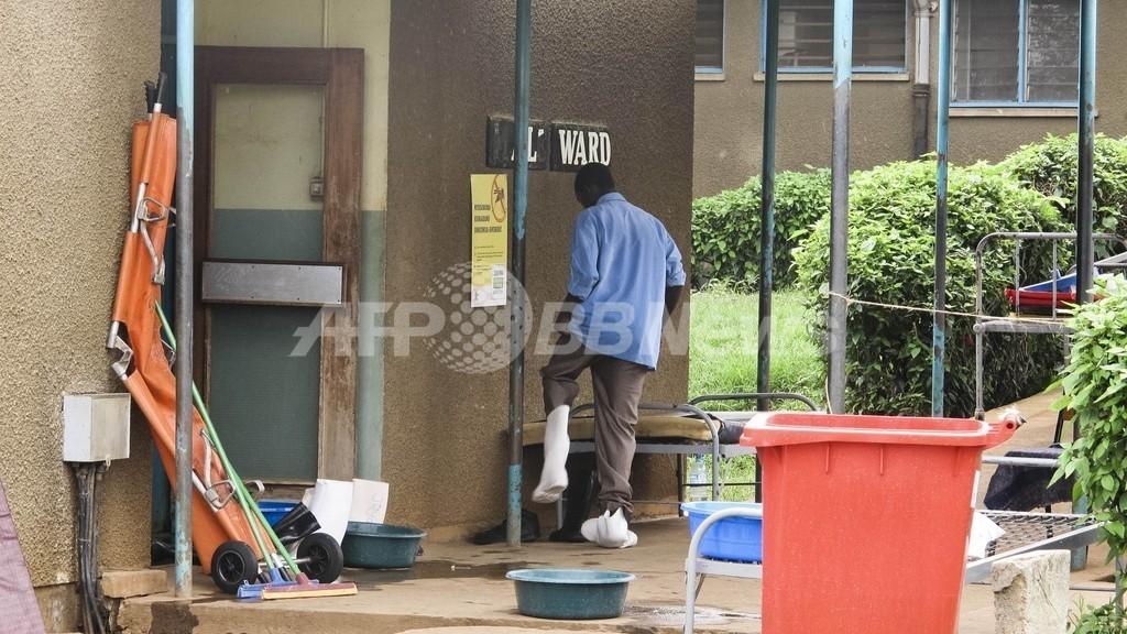 ウガンダのエボラ出血熱、死者16人に WHO