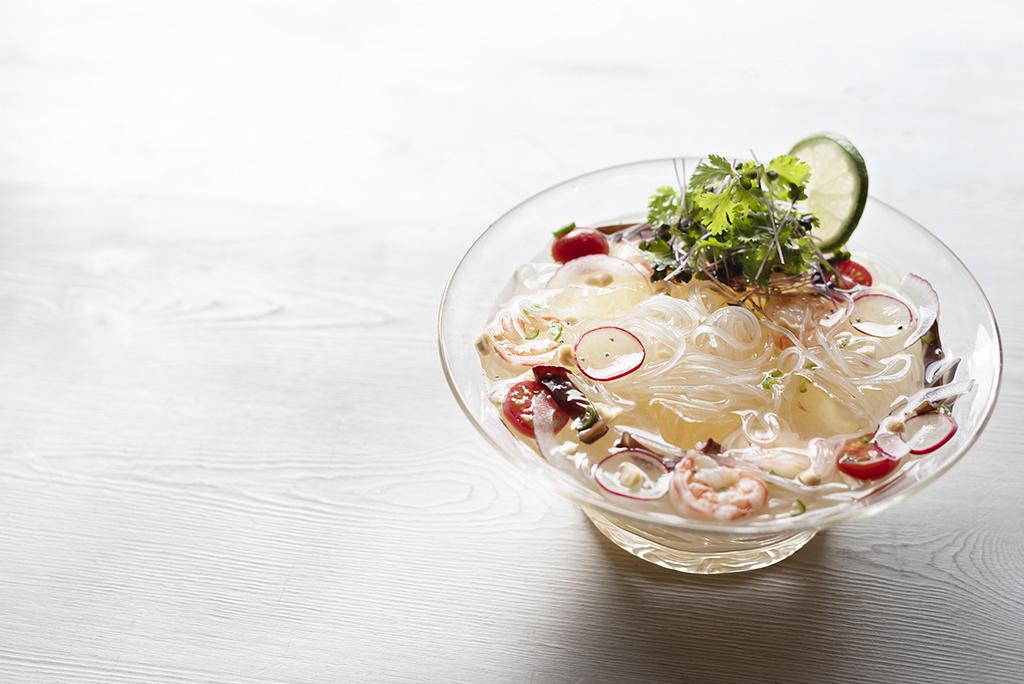 <La Cuillère de marie claire style>第98回 エスニック風の冷たいスープ春雨