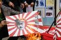 南京事件から81年、香港の日本総領事館前で抗議デモ