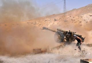 IS、シリア・パルミラで政府軍が放棄した戦闘装備を入手 米国防総省