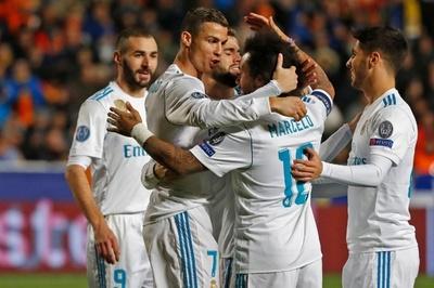 レアル大勝で16強入り、国内リーグ不振のロナウドは大会8得点目