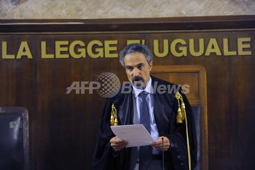 CIA工作員ら25人に有罪判決、イスラム聖職者拉致で イタリア