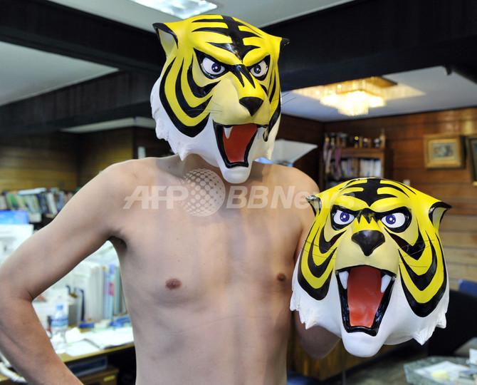 「タイガーマスク現象」、実物マスクを活用しては?