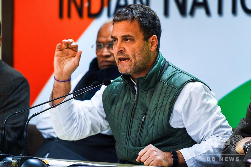 インド野党のガンジー総裁、総選挙で勝利なら「最低限所得保障」導入