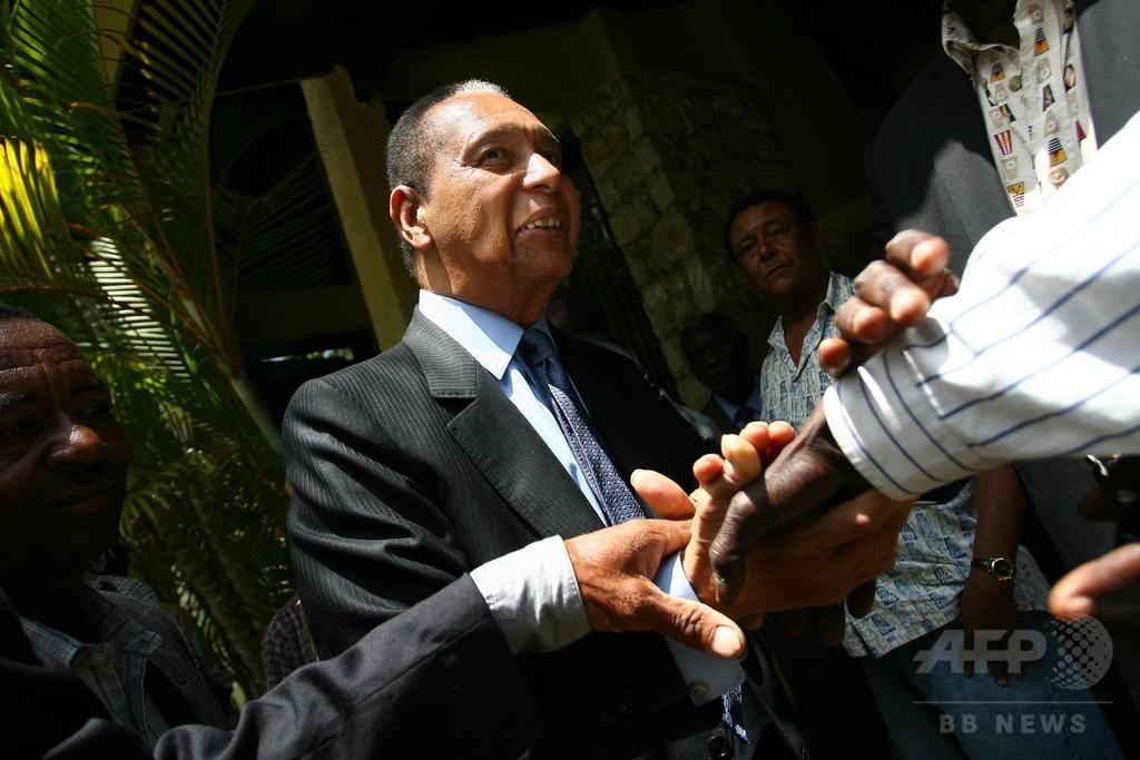 ハイチのデュバリエ元大統領が死去、独裁の「暗黒時代」に幕