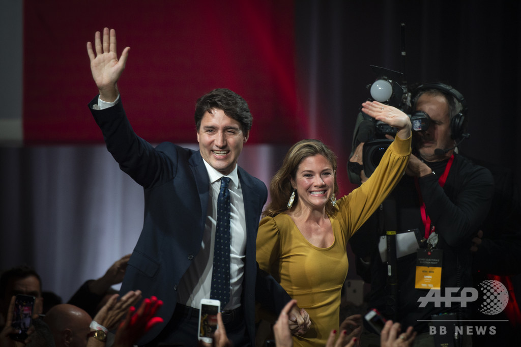 カナダ首相夫人、新型コロナウイルスに感染