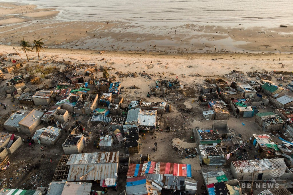 コレラで2人死亡、感染者1400人超える サイクロン被災のモザンビーク