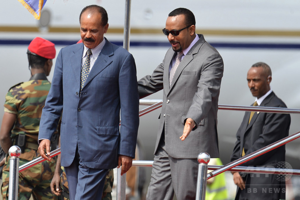 エリトリア大統領がエチオピアを歴史的訪問、大使館再開へ
