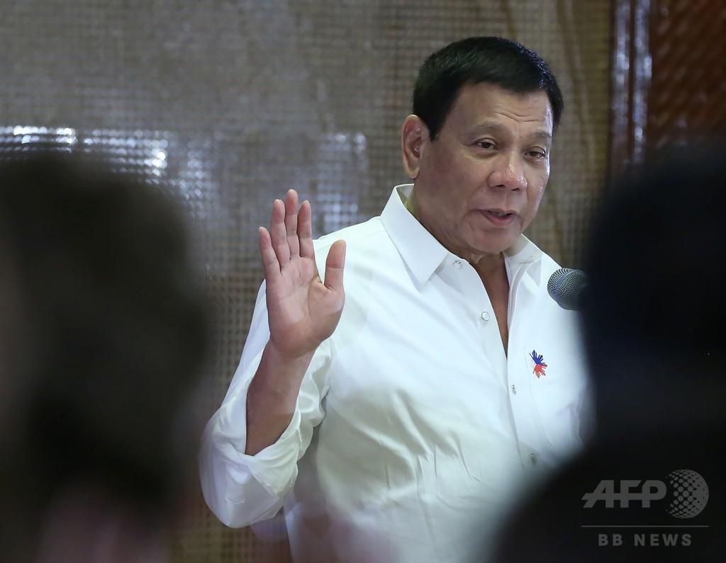 比大統領、中国に「落とし前をつけさせる」と警告 南シナ海問題
